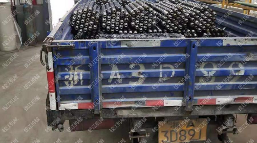 贵州某煤矿肋骨钻杆发货