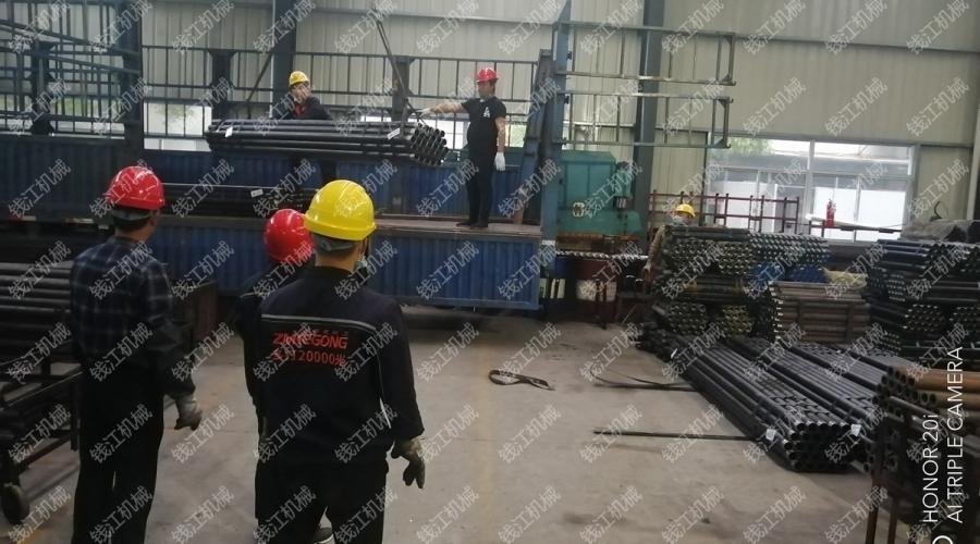 山东某集团客户73随钻测量钻杆发货