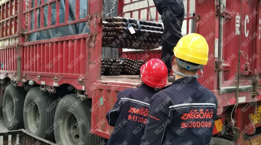 淮南矿业双螺旋肋骨钻杆发货
